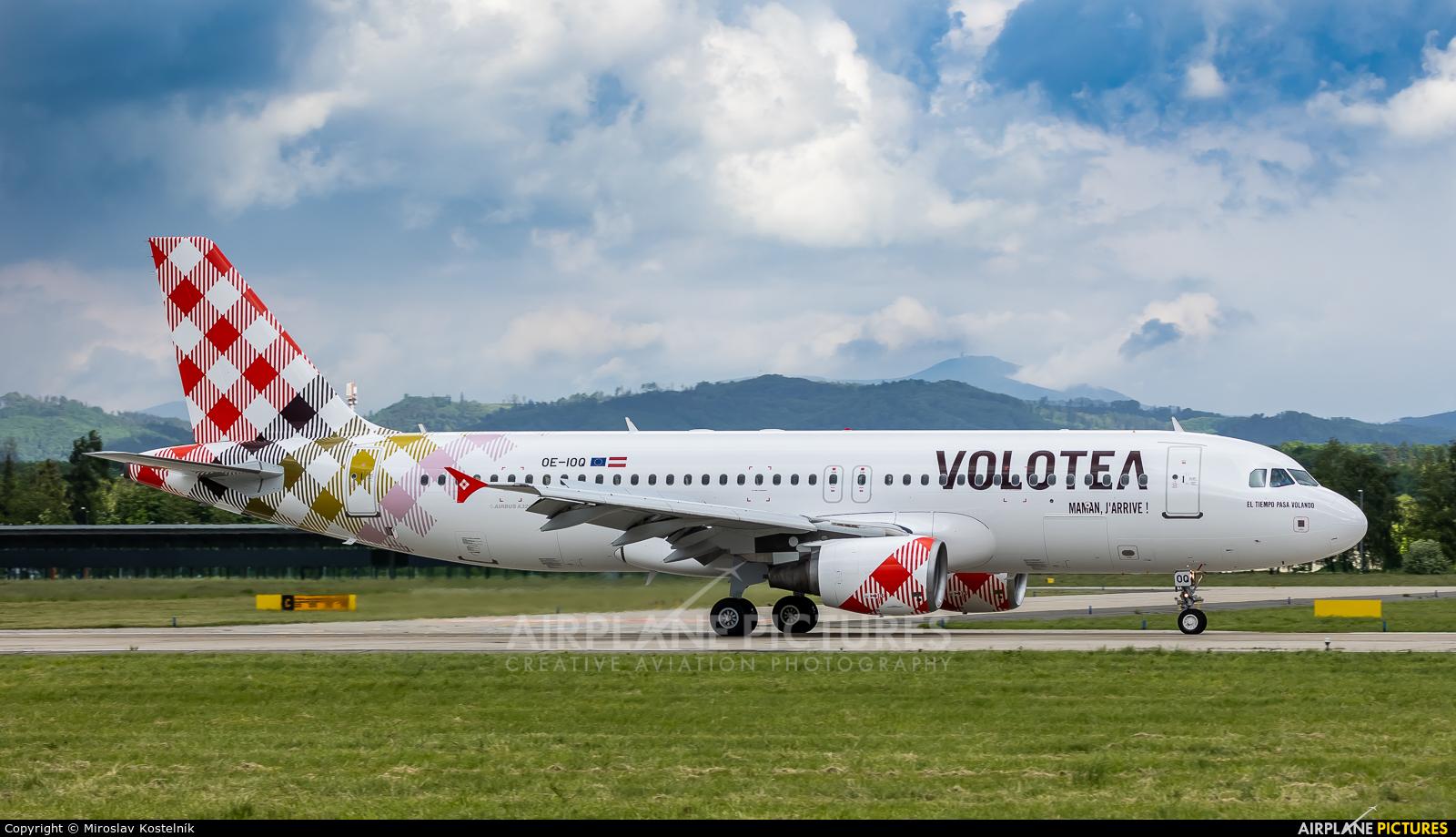Volotea Airlines OE-IOQ aircraft at Ostrava Mošnov