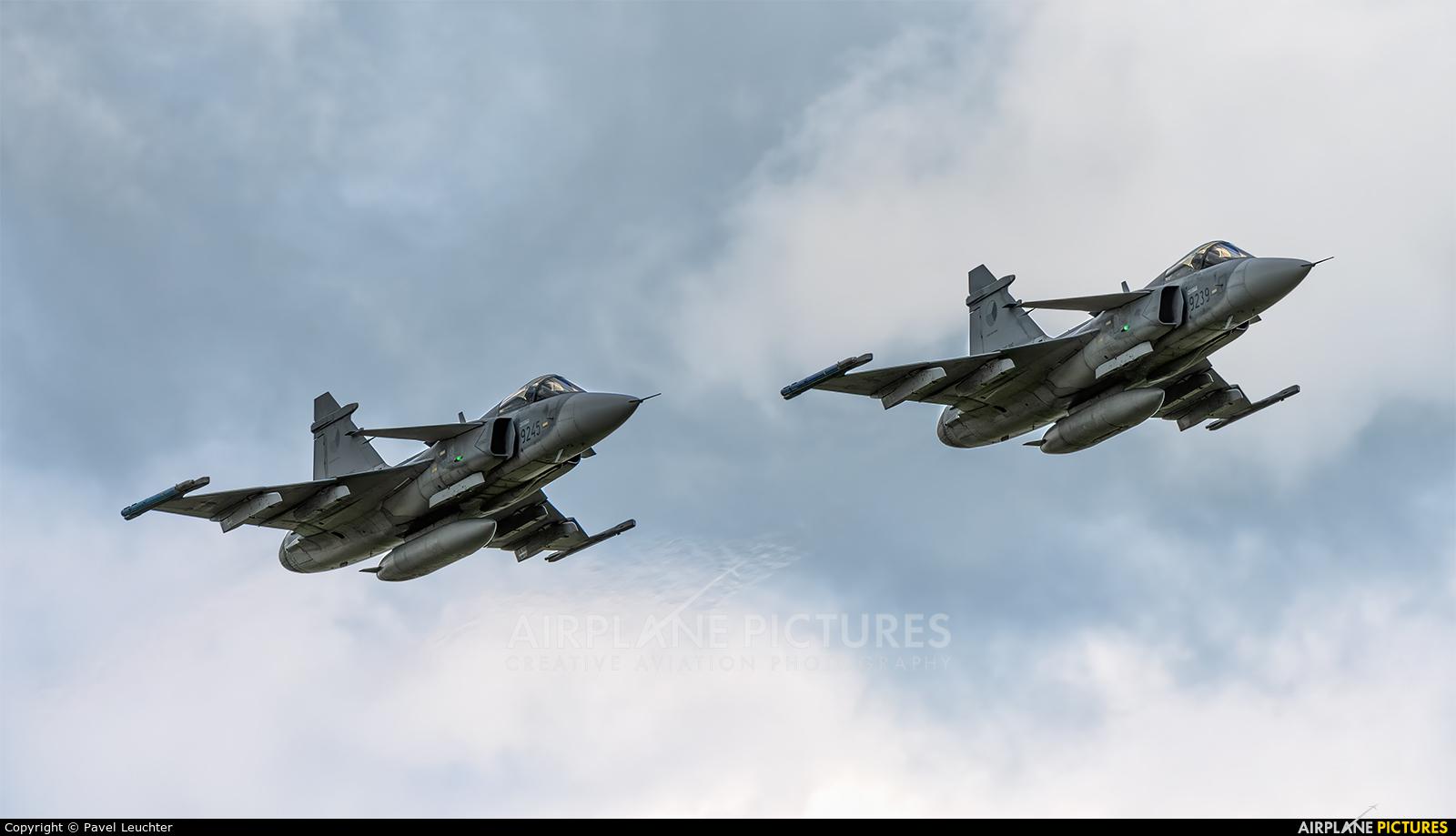 Czech - Air Force 9239 aircraft at Pardubice