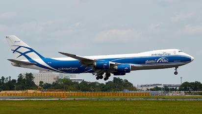 VQ-BRJ - Air Bridge Cargo Boeing 747-8F