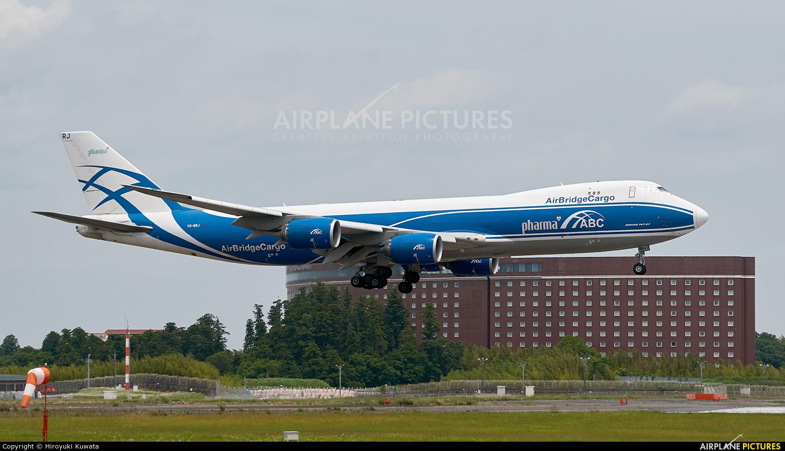 Air Bridge Cargo VQ-BRJ aircraft at Tokyo - Narita Intl