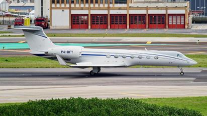P4-BFY - Private Gulfstream Aerospace G-V, G-V-SP, G500, G550