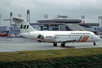 OY-KIE - SAS - Scandinavian Airlines McDonnell Douglas DC-9