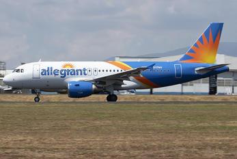 N317NV - Allegiant Air Airbus A319