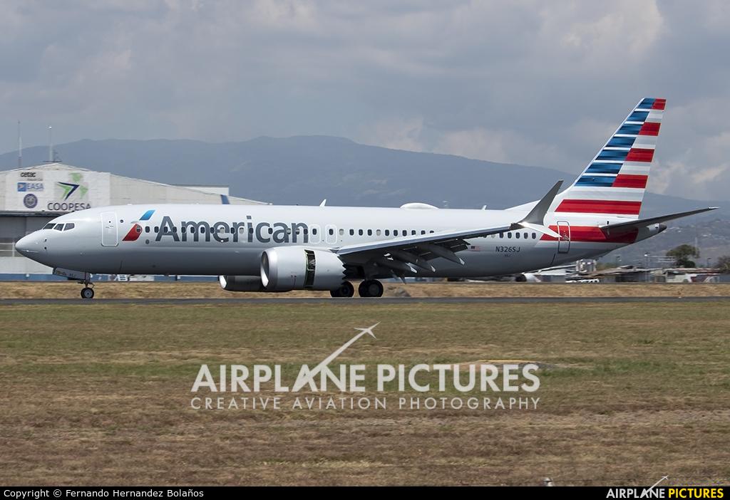 American Airlines N326SJ aircraft at San Jose - Juan Santamaría Intl