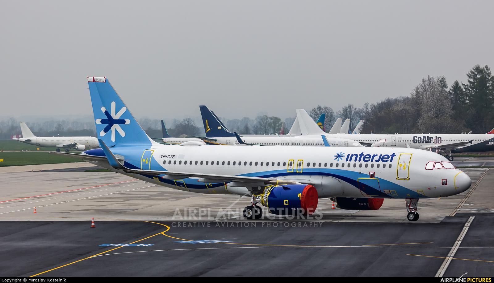 GECAS VP-CZE aircraft at Ostrava Mošnov