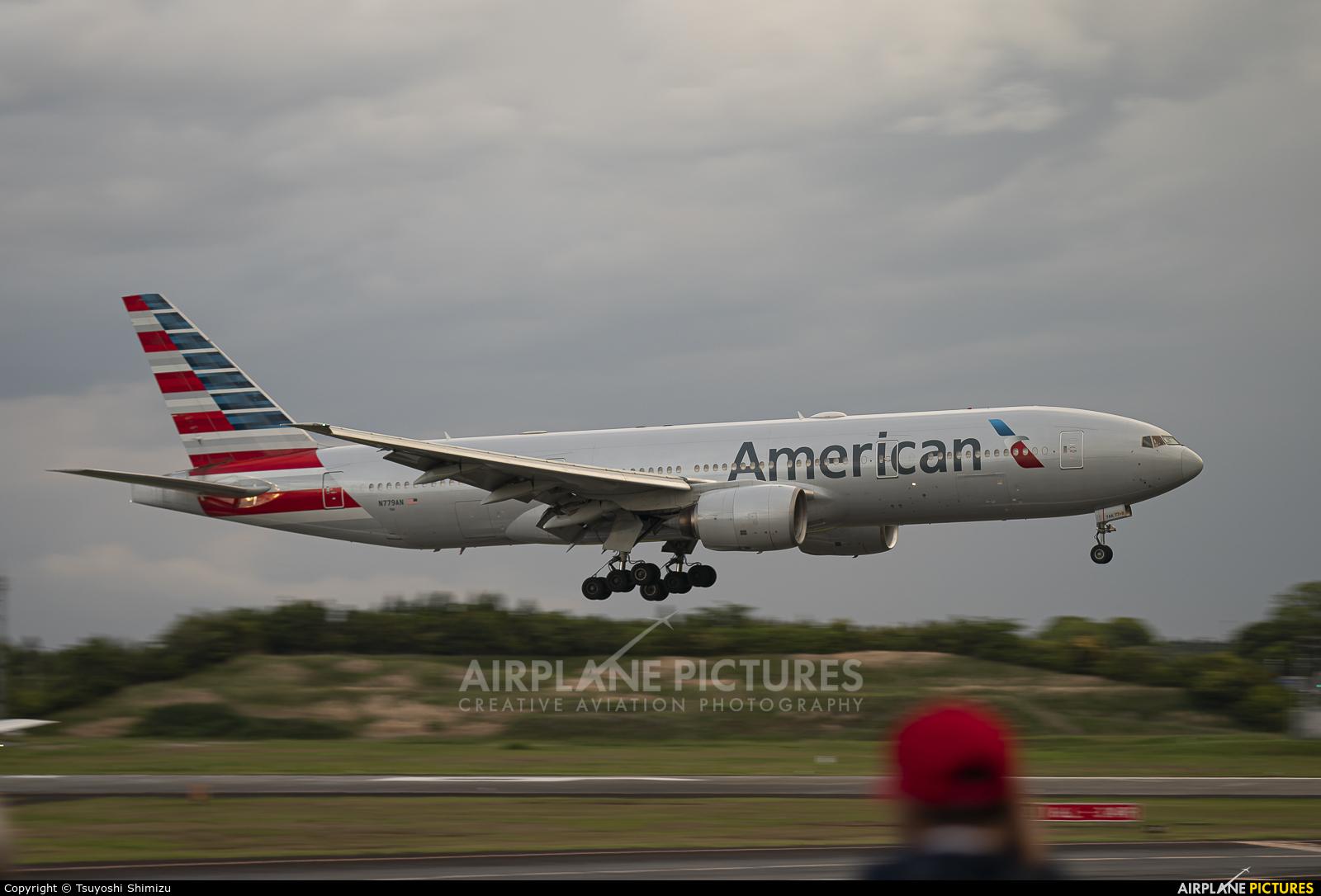 American Airlines N779AN aircraft at Tokyo - Narita Intl