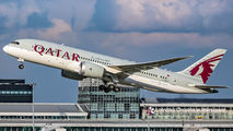 A7-BDA - Qatar Airways Boeing 787-8 Dreamliner aircraft