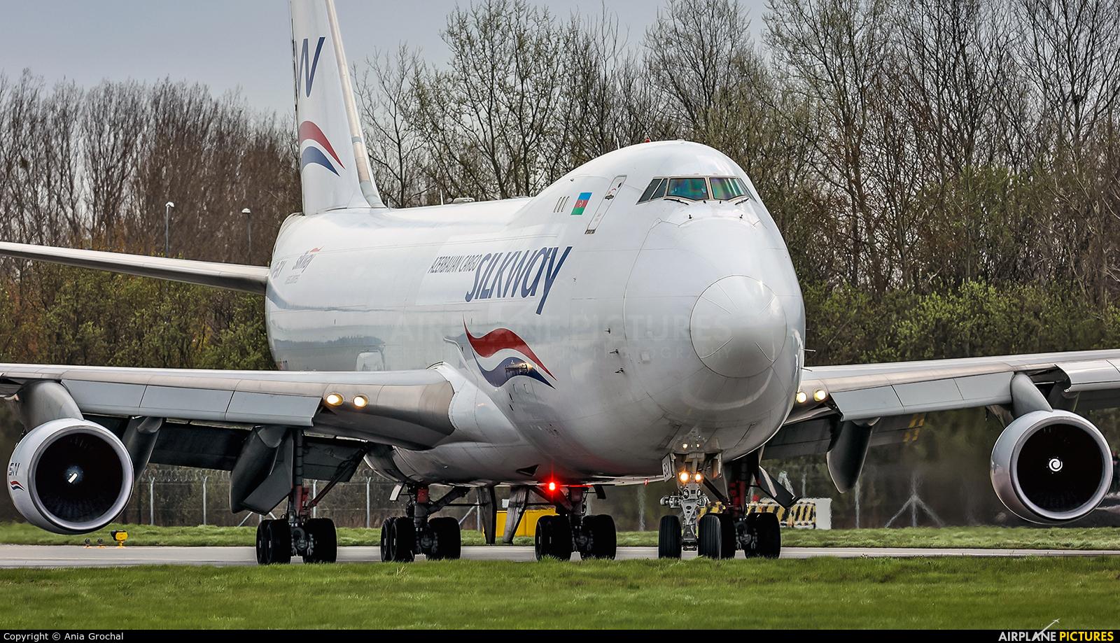 Silk Way Airlines VP-BCV aircraft at Warsaw - Frederic Chopin