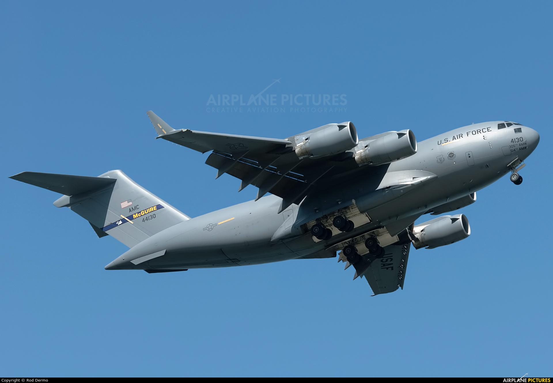 USA - Air Force 04-4130 aircraft at Cleveland - Burke Lakefront