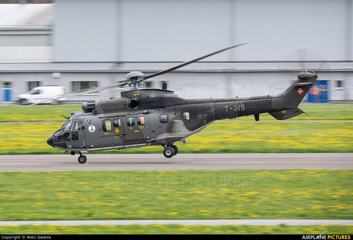 Switzerland - Air Force T-315 aircraft at Alpnach