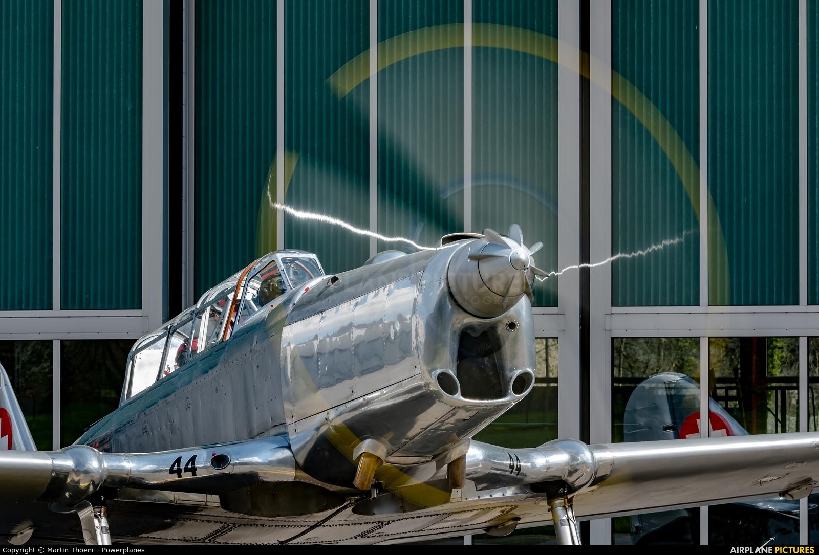 Private HB-RAM aircraft at Mollis