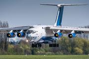 Azerbaijan AF Il-76 visited Pardubice title=