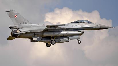 4064 - Poland - Air Force Lockheed Martin F-16C block 52+ Jastrząb