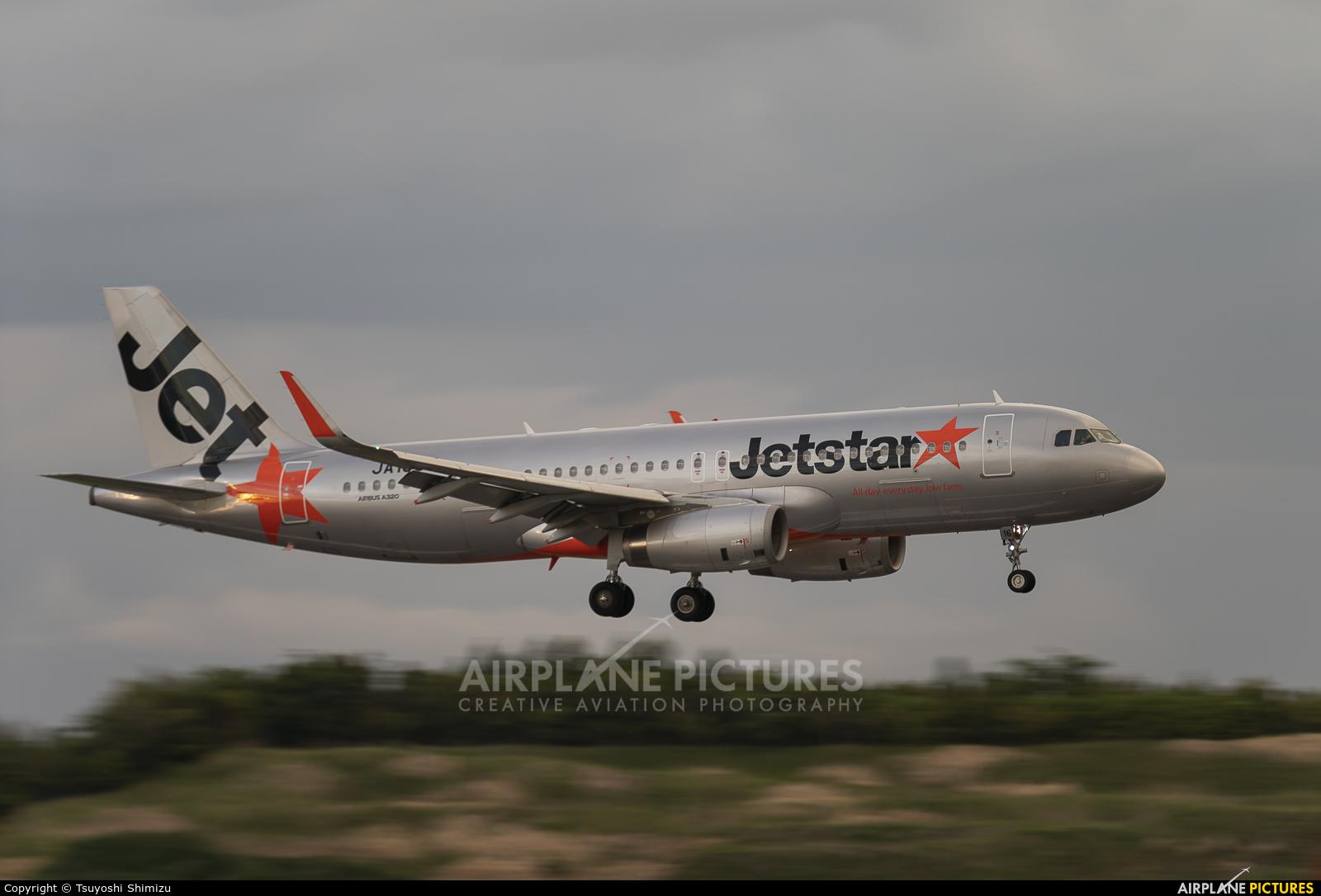 Jetstar Japan JA16JJ aircraft at Tokyo - Narita Intl