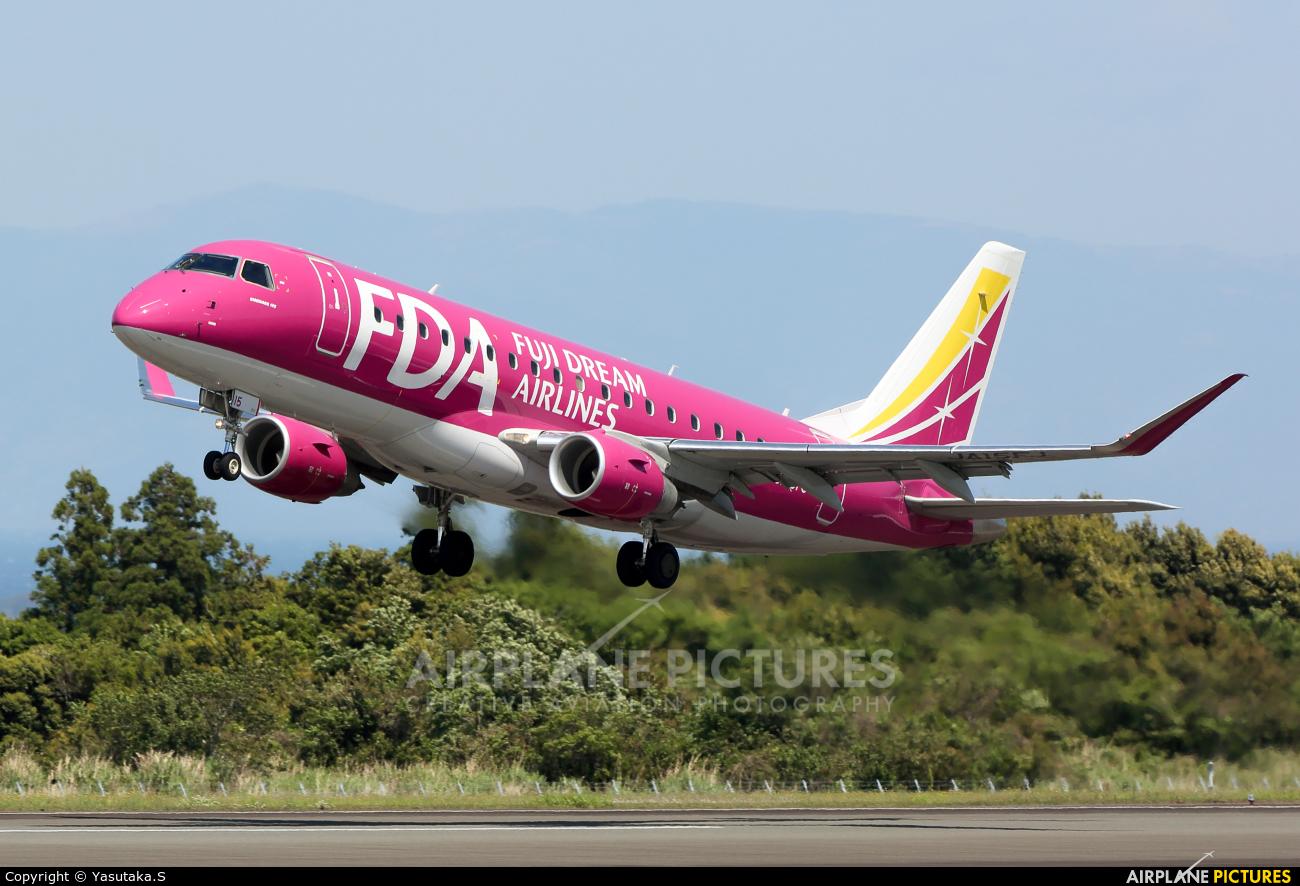 Fuji Dream Airlines JA15FJ aircraft at Shizuoka