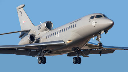 606 - Hungary - Air Force Dassault Falcon 7X