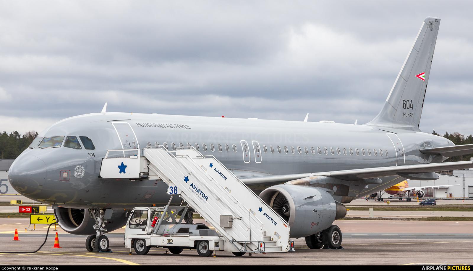 Hungary - Air Force 604 aircraft at Helsinki - Vantaa