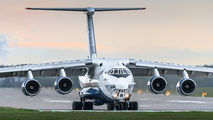 Silk Way Airlines Il-76 at Pardubice title=