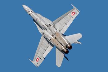 J-5005 - Switzerland - Air Force McDonnell Douglas F-18C Hornet