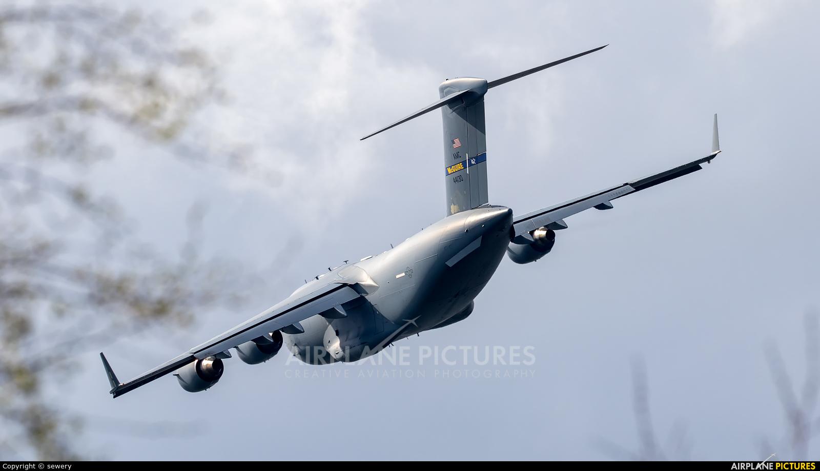USA - Air Force 04-4130 aircraft at Łask AB