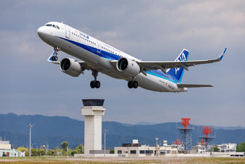 JA141A - ANA - All Nippon Airways Airbus A321 NEO