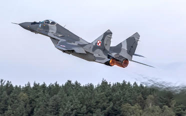 #1 Poland - Air Force Mikoyan-Gurevich MiG-29A 92 taken by Violetta Banas