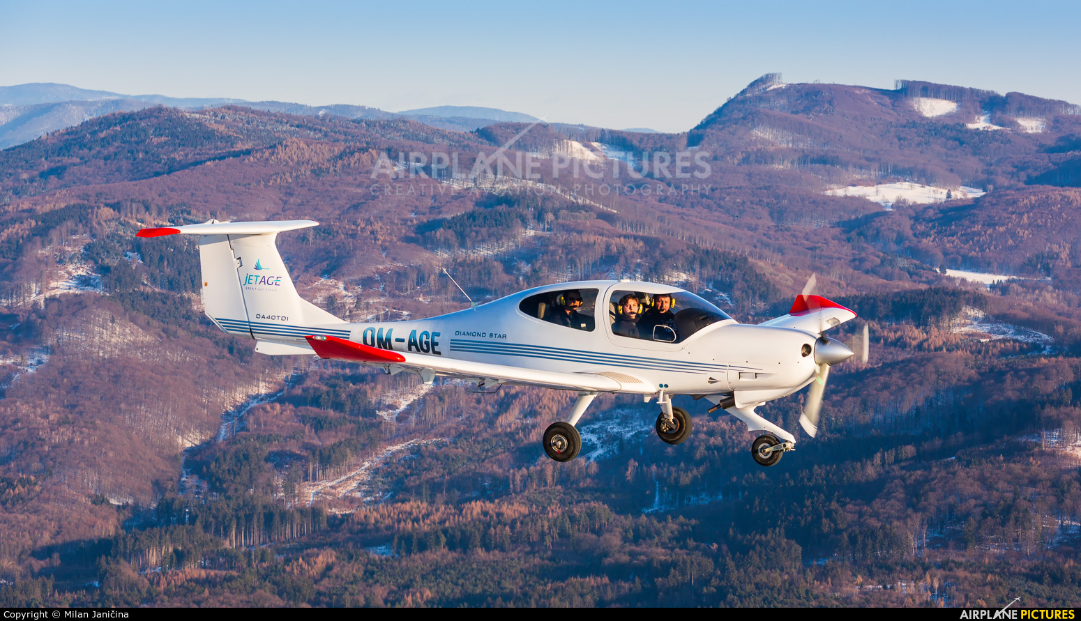 JetAge OM-AGE aircraft at In Flight - Slovakia