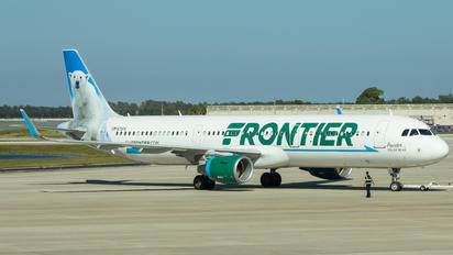 N711FR - Frontier Airlines Airbus A321