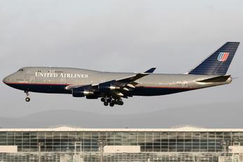 N117UA - United Airlines Boeing 747-400