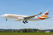 Sunclass Airlines A330 at Zurich title=