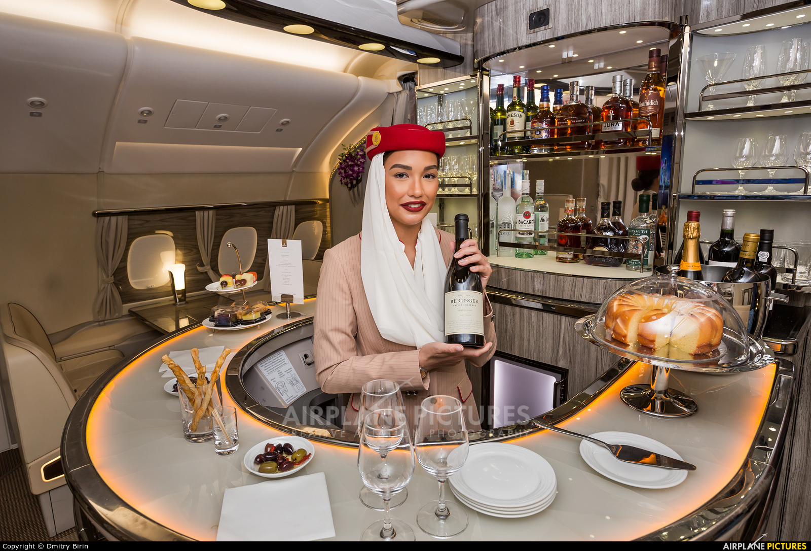 Emirates Airlines A6-EVH aircraft at Jebel Ali Al Maktoum Intl
