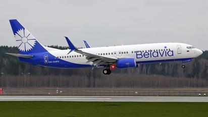 EW-544PA - Belavia Boeing 737-800