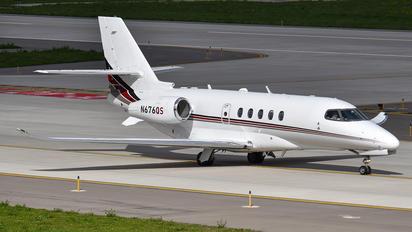 N676QS - Netjets (USA) Cessna 680A Latitude