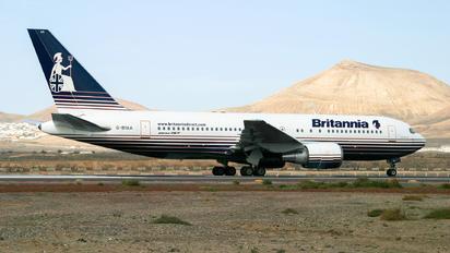 G-BYAA - Britannia Airways Boeing 767-200
