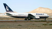 G-BYAA - Britannia Airways Boeing 767-200 aircraft