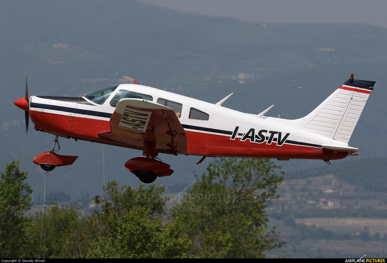 Private I-ASTV aircraft at Verona - Boscomantico