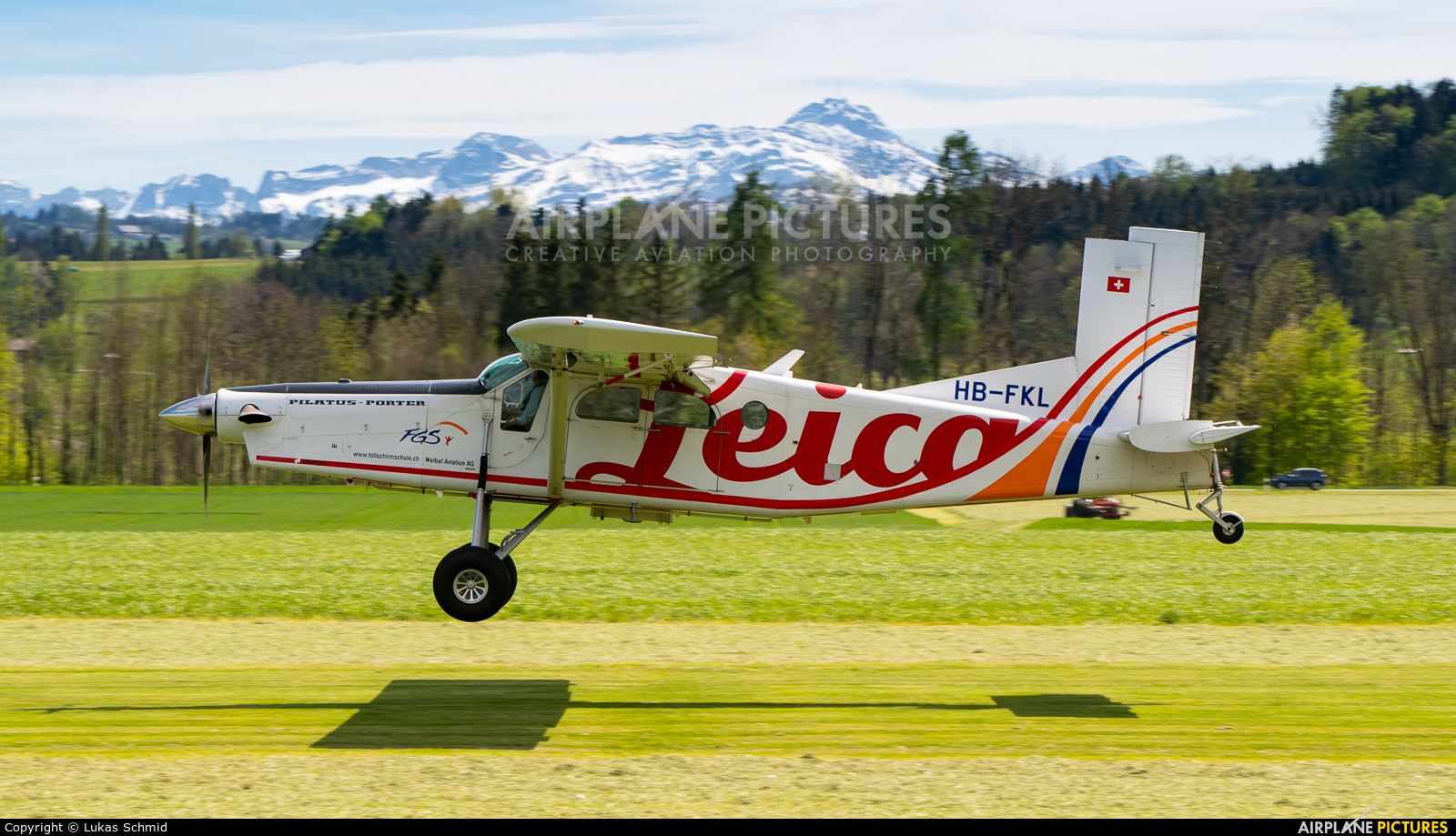 Private HB-FKL aircraft at Off Airport - Switzerland