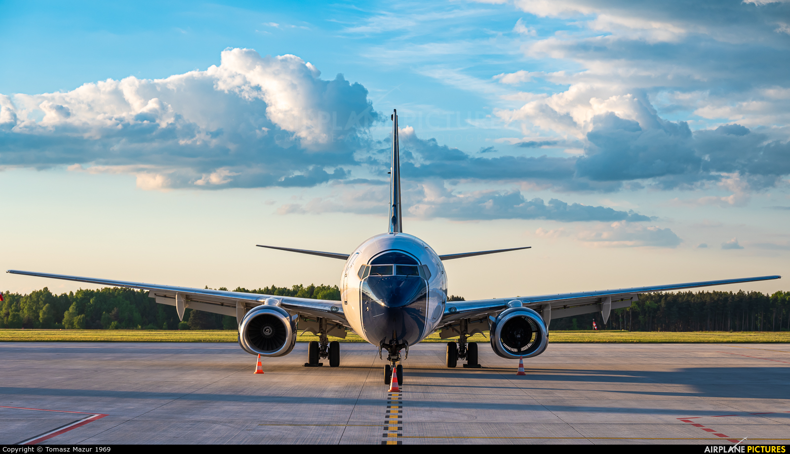 Blue Panorama Airlines I-LCFC aircraft at Katowice - Pyrzowice