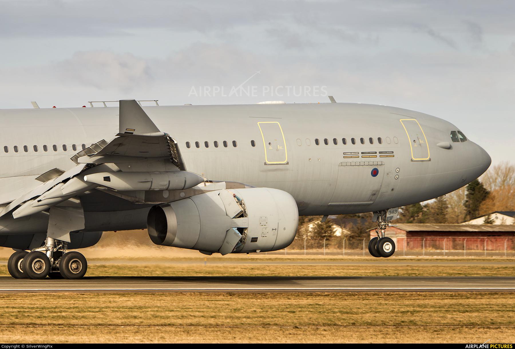 Royal Air Force ZZ343 aircraft at Copenhagen Kastrup