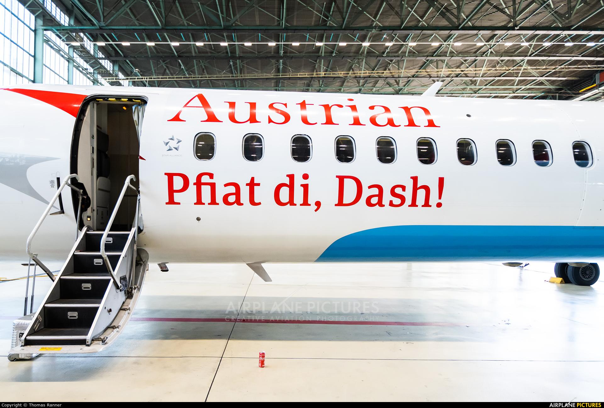 Austrian Airlines/Arrows/Tyrolean OE-LGI aircraft at Vienna - Schwechat