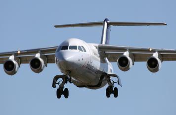 OO-DJK - Brussels Airlines British Aerospace BAe 146-200/Avro RJ85