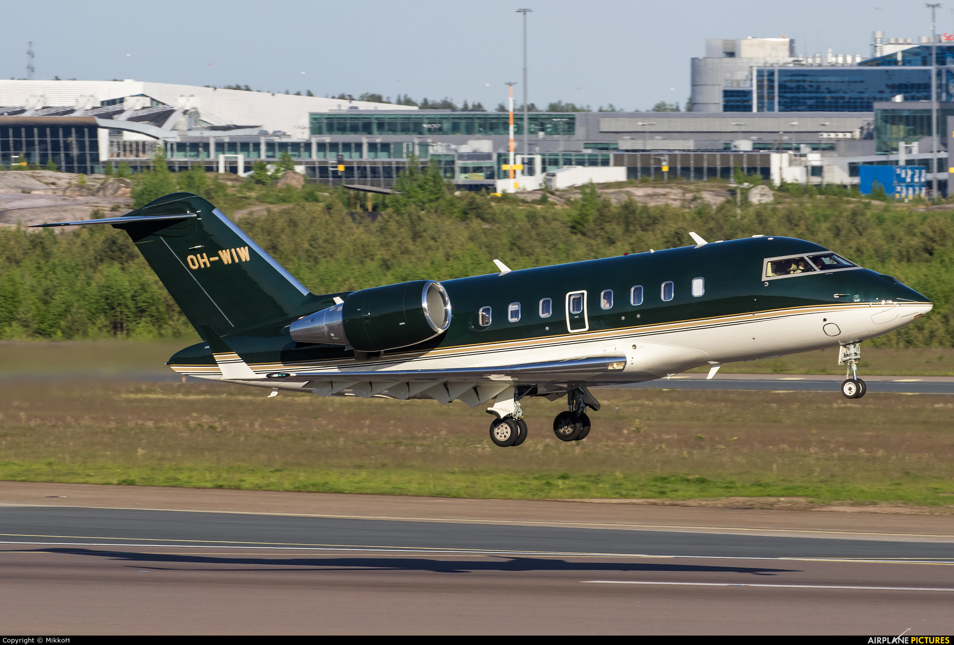 Jetflite Oy OH-WIW aircraft at Helsinki - Vantaa