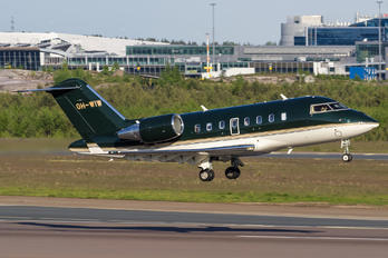 OH-WIW - Jetflite Oy Bombardier Challenger 650