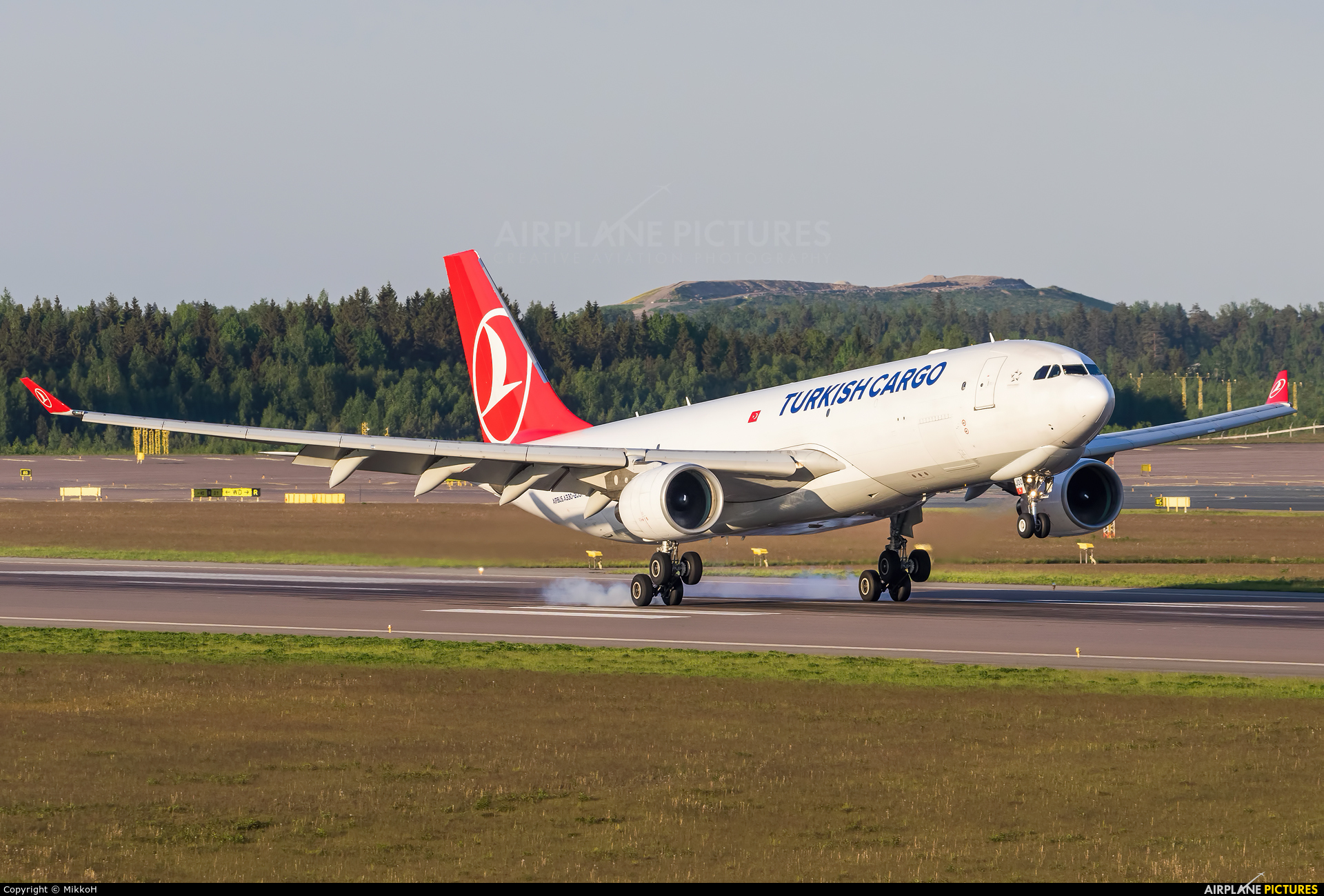 Turkish Cargo TC-JOO aircraft at Helsinki - Vantaa