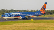 N821SY - Sun Country Airlines Boeing 737-800 aircraft