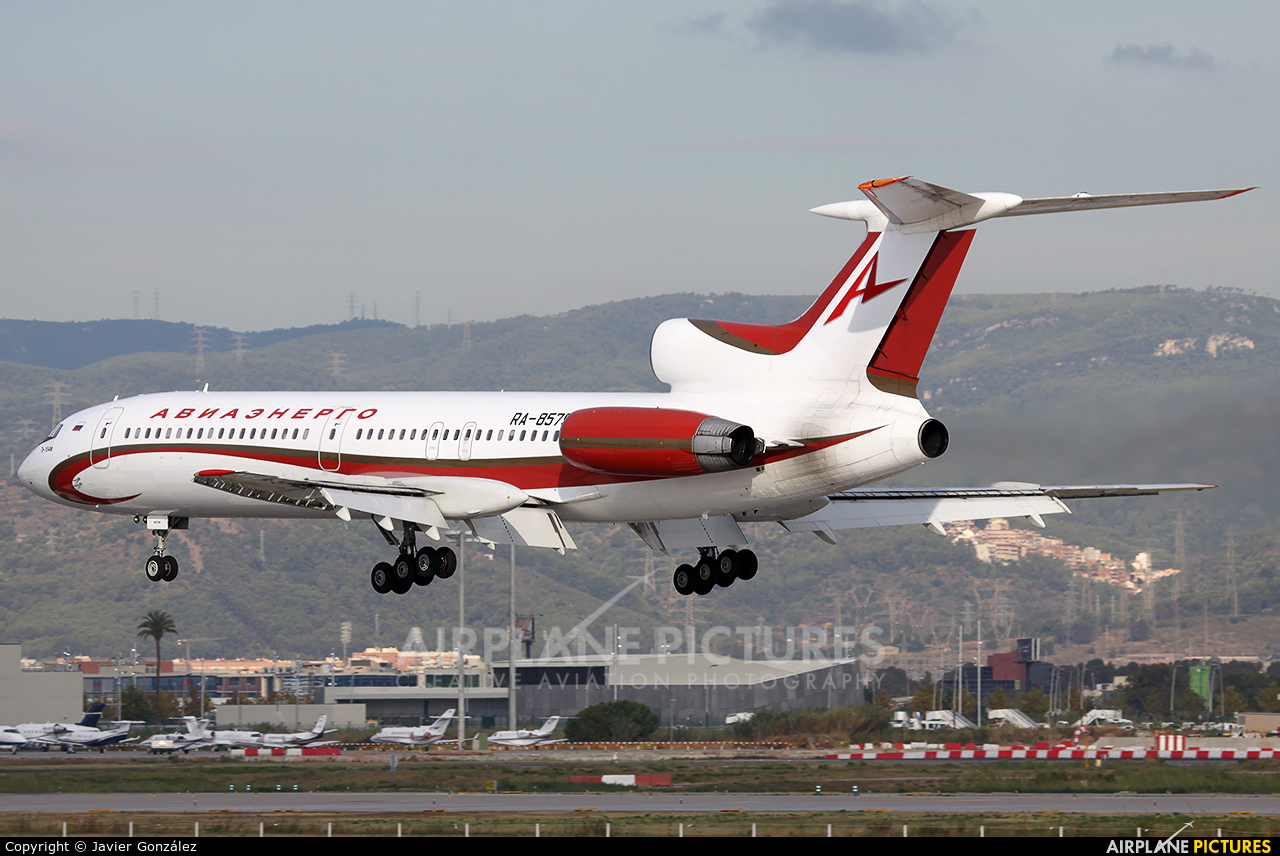 Aviaprad RA-85795 aircraft at Barcelona - El Prat