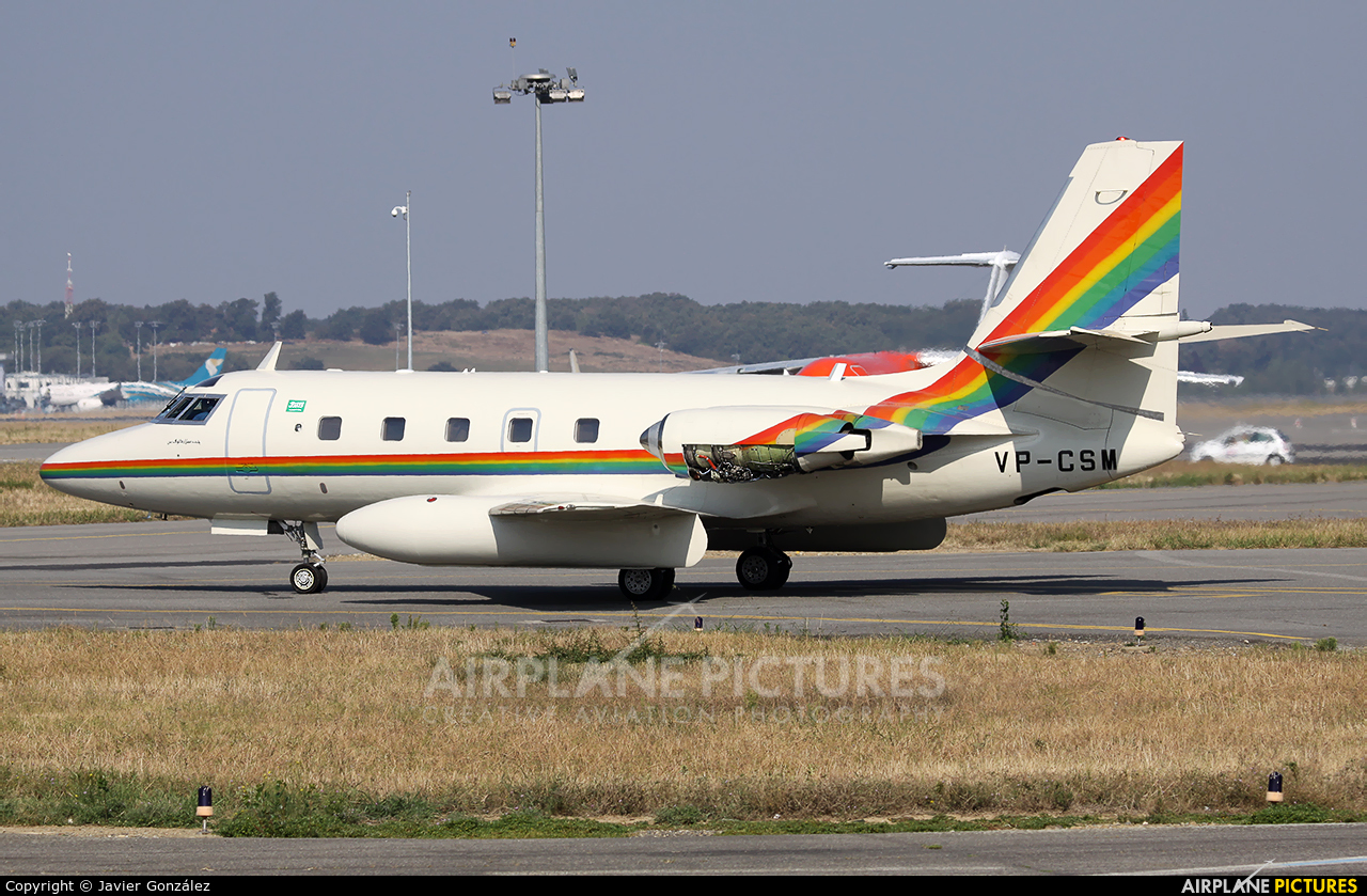 Private VP-CSM aircraft at Toulouse - Blagnac