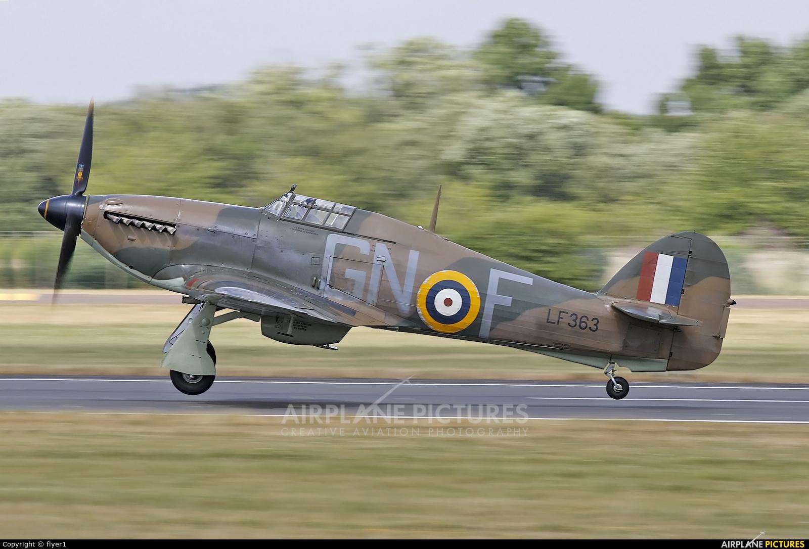 "Royal Air Force ""Battle of Britain Memorial Flight"" LF363 aircraft at Fairford"
