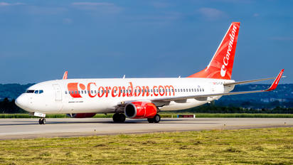 TC-TJP - Corendon Airlines Boeing 737-800