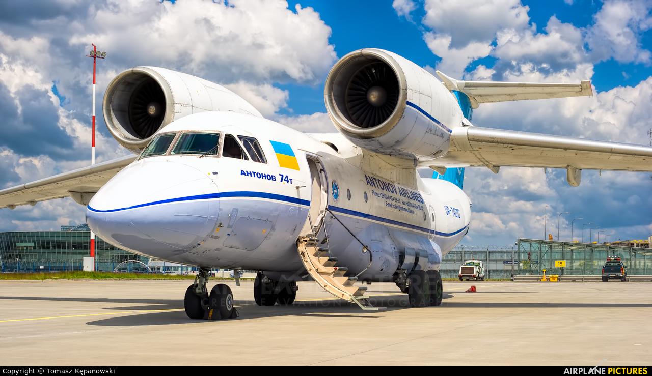 Antonov Airlines /  Design Bureau UR-74010 aircraft at Rzeszów-Jasionka